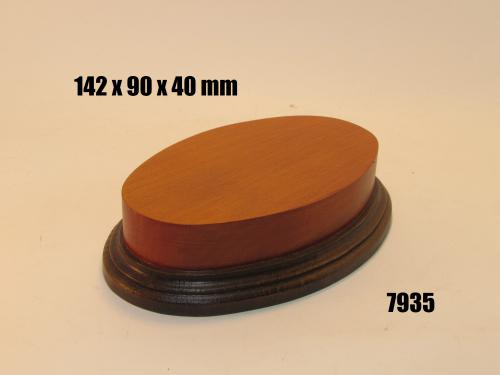 WOODEN BASE 7935 OVAL