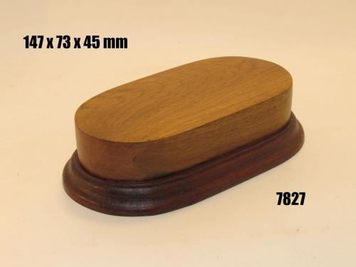 WOODEN BASE  - 7827 OVAL