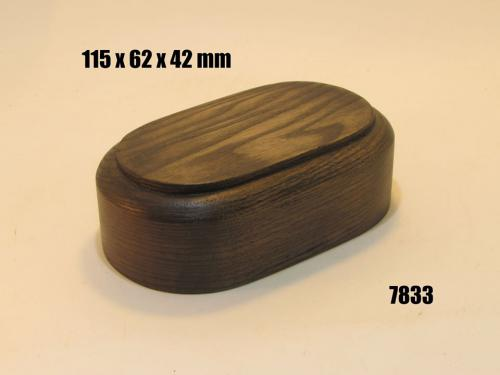 WOODEN BASE  - 7833 OVAL