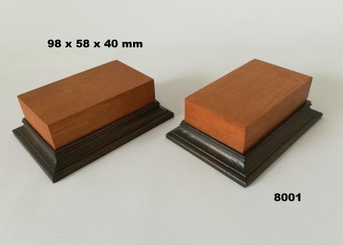 WOODEN BASE - 8001  FIGURS
