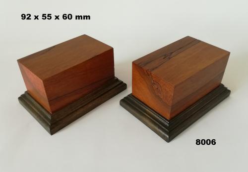 WOODEN BASE - 8006  FIGURS