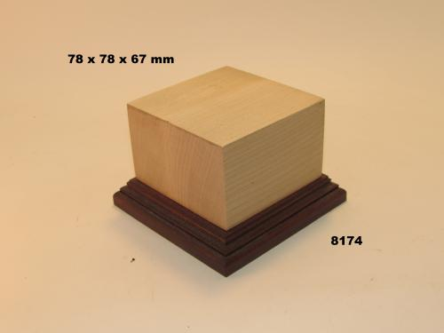 WOODEN BASE - 8174  FIGURS
