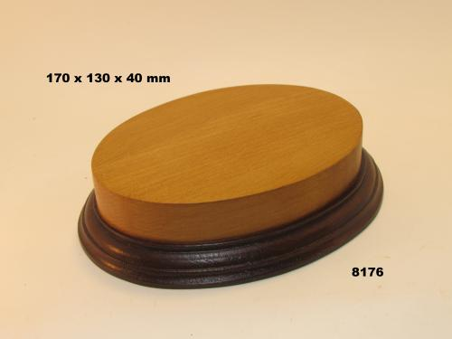 WOODEN BASE  - 8176 OVAL