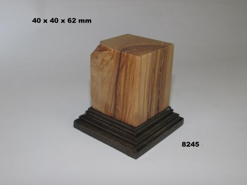 WOODEN BASE - 8245  FIGURS