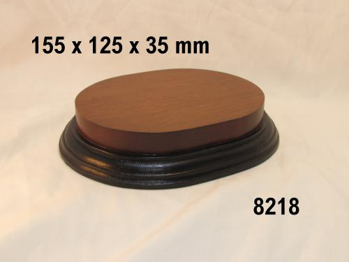 WOODEN BASE  - 8218 OVAL