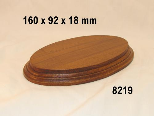 WOODEN BASE  - 8219 OVAL