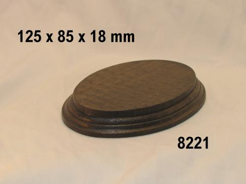 WOODEN BASE  - 8221 OVAL