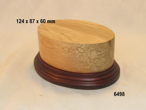 WOODEN BASE 6498 OVAL