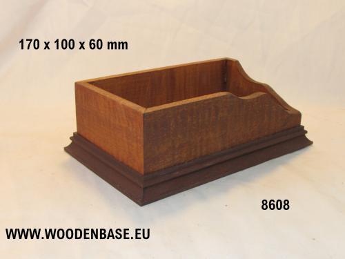 WOODEN BASE 8608 DIORAMA