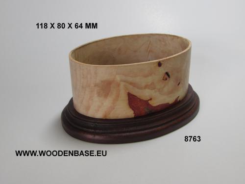WOODN BASE - 8763 OVAL