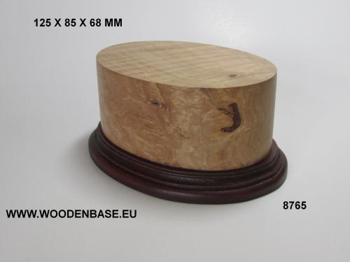 WOODN BASE - 8765 OVAL