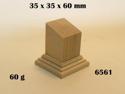 WOODEN BASE - 6561 BUST   - zvìtšit obrázek
